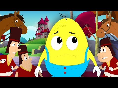 Humpty Dumpty Sat On A Wall  Nursery Rhymes For Childrens  Kids Songs  Song kids tv S02 EP053