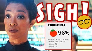 Star Trek Discovery 96% Rotten Tomatoes Critics Score for Brother | Let the Access Media Games Begin