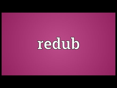 Header of redub
