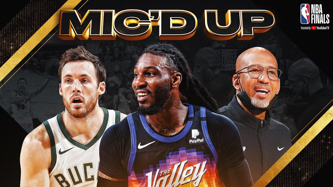The Best Sounds & Mic'd Up Moments from Game 2 of the 2021 NBA Finals! 🗣🗣