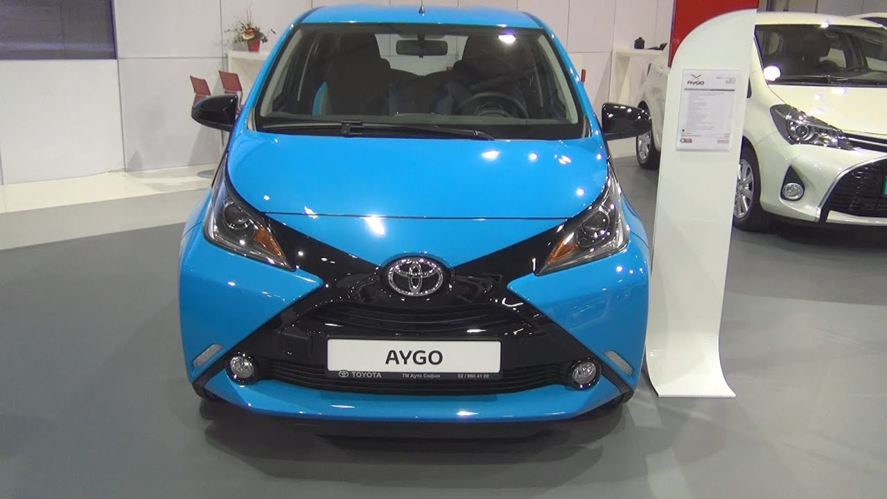 toyota aygo 1 0 vvt i 69 hp x cite 5mt 2016 exterior and interior in 3d youtube. Black Bedroom Furniture Sets. Home Design Ideas