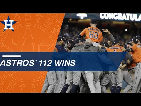 Astros Win 112 In 2017 Season Including World Series