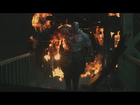Resident Evil 2 Remake No Damage Super Tyrant Mr X Boss Fight
