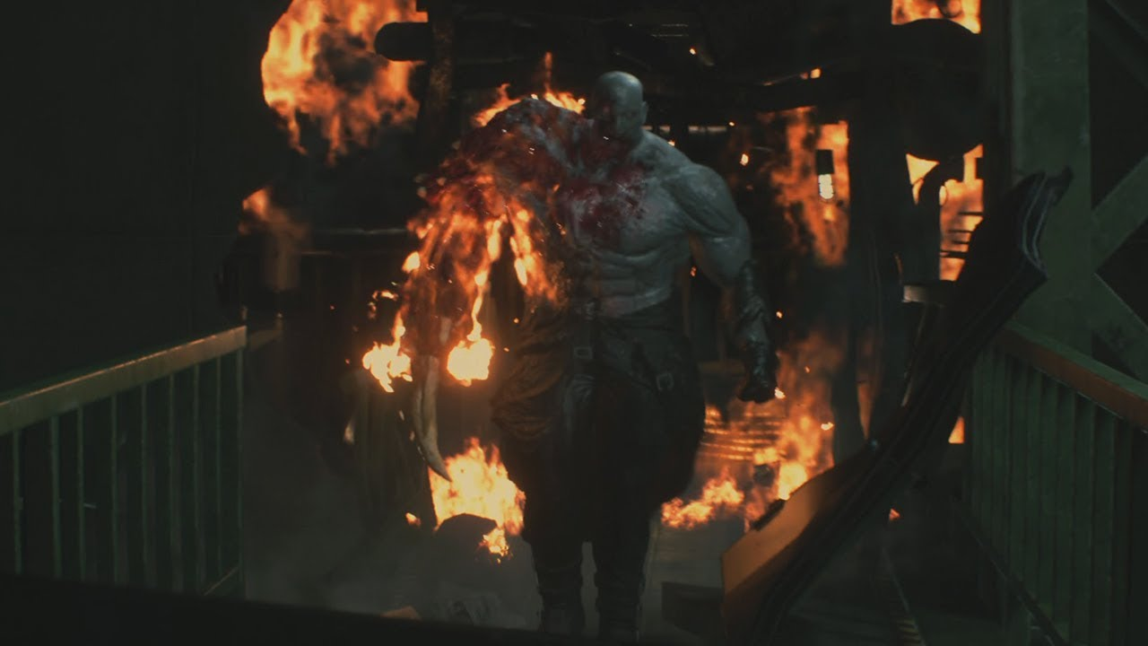 Resident Evil 2 Remake No Damage Super Tyrant Mr X Boss Fight