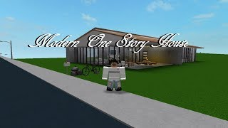 ROBLOX - France Bienvenue à Bloxburg: One Story Modern House 55K