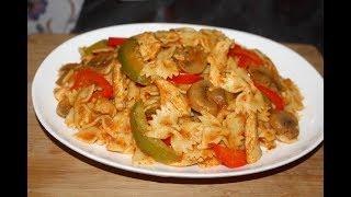 Chicken Pasta Recipes Chicken And Vegetable Pasta Recipe Macaroni With Chicken Recipe