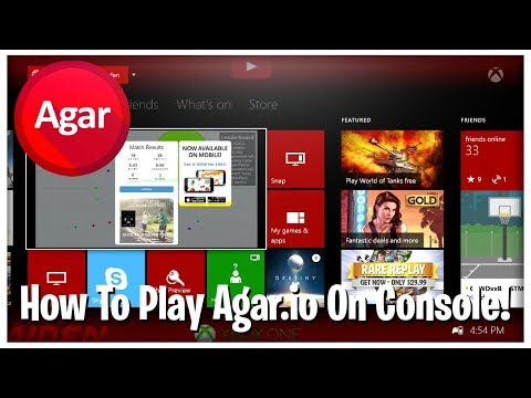 How to play agario on your xbox one