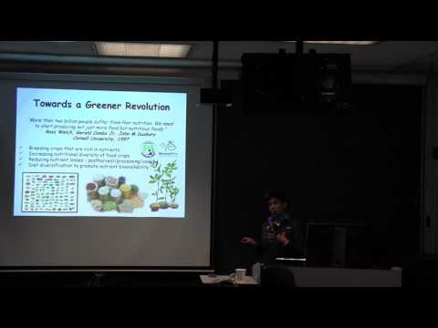 Dil Thavarajah: Pulses as whole food solution to global health challenges