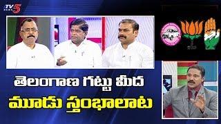 తెలంగాణ గట్టు మీద | News Scan LIVE Debate with Vijay | TV5 News