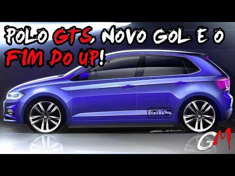VW APRESENTA NOVA GAMA DE MODELOS COM POLO GTS E NOVO GOL!!