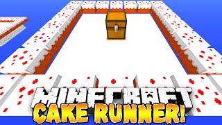 Minecraft - CAKE RUNNER PARKOUR! - w/Preston, Vikkstar & Lachlan