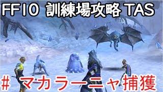(コメ付き)【TAS】FF10 WIP 【マカラーニャ捕獲編】