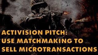 Activision Patents Microtransaction-Based Matchmaking