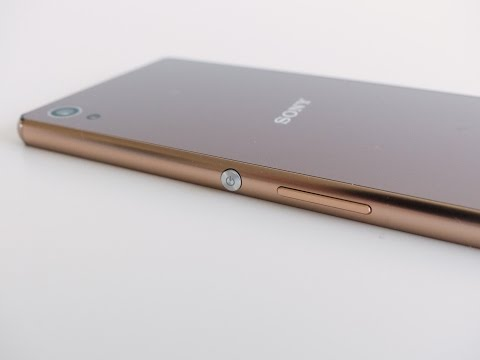 Sony Xperia Z3+ Copper unboxing