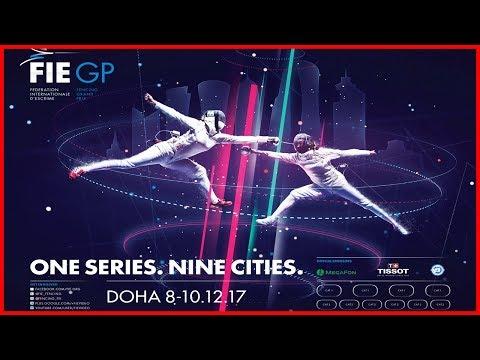 Men & Women Epee Grand Prix Doha 2017 - Piste Red