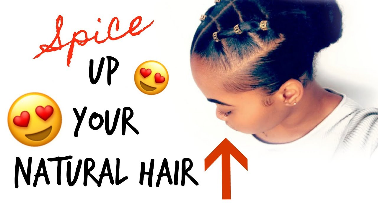 How To Spice Up Your Natural Hair Trendy Rubber Band