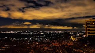 Timelapse Day to Night in Caracas, 14 sec video
