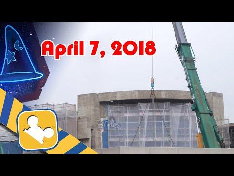 Construction Update: MARVEL Themed Attraction | Hong Kong Disneyland (April 7, 2018)