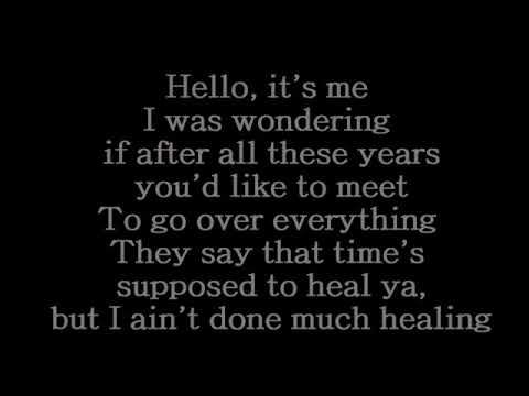 Adele - Helo (lyrics)