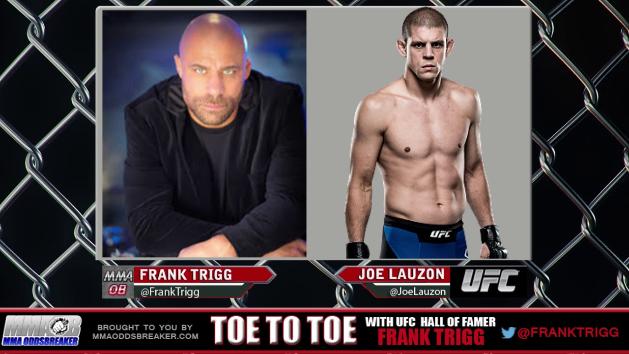 Frank Trigg pre-fight interview with UFC Fight Night 120's Joe Lauzon