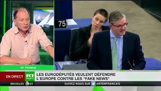 «Désinformation» russe : pour Pierre Lévy, les eurodéputés entendent créer «une sorte de diversion»
