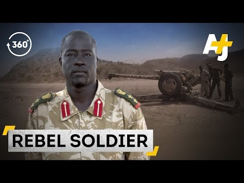 Inside The Lives Of Nuba's Rebel Fighters [Sudan In 360, Part 2]