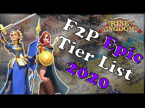 Updated F2P Epic Commander Expertise Guide 2020 | Rise Of Kingdoms