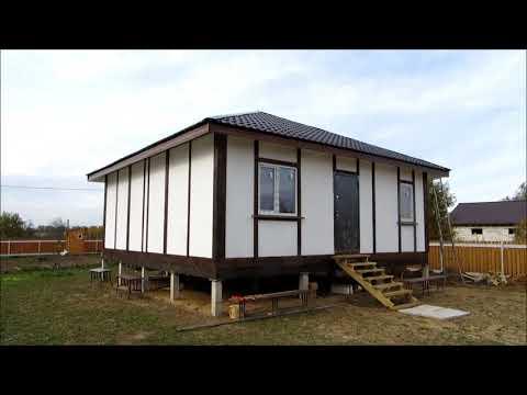 Внешняя отделка сип-дома в стиле Фахверк. Материалы SOPPKA