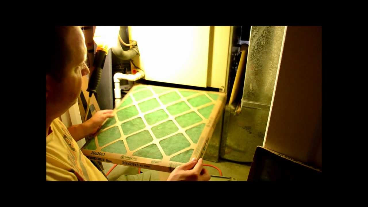 medium resolution of how to change your home furnace air filter
