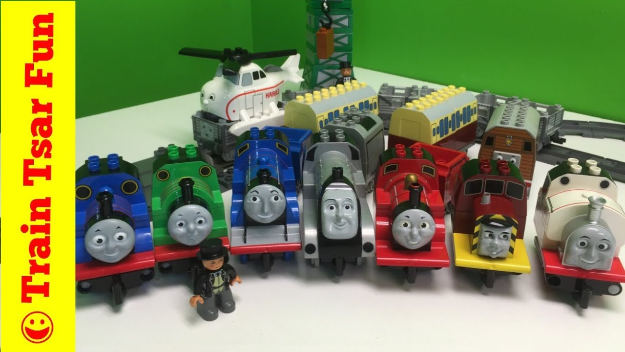 Every Lego Duplo Thomas Friends Complete Collection Trains With