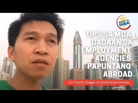 [Buhay sa Dubai] LIST OF MANPOWER AGENCIES IN THE PHILIPPINES