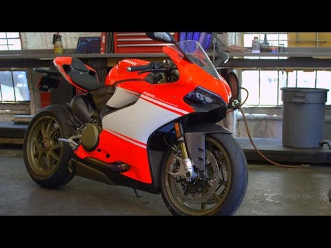 Ducati Superleggera on Mulholland Hwy