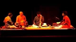 Live Carnatic saxophone concert: Prasant Radhakrishnan, BU Ganeshprasad, Trichur Narendran, V Suresh