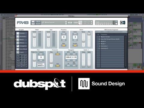 Sound Design Tutorial w/ FM8: Creating Growl Bass Sounds w/ Native Instruments' Komplete