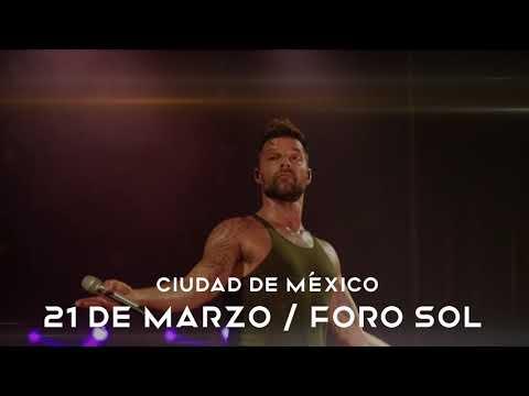 Ricky Martin en concierto 21 de Marzo, Foro Sol, Ciudad de México.