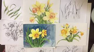 Let's draw #67 spring Flower s…