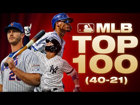 Top 100 Players - No. 40-21   MLB Top 100 (Where Did Javier Baez, Gleyber Torres End Up?)