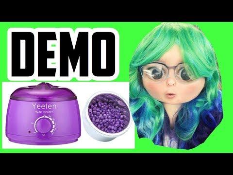 Hard wax? Does it work   Yeelen Hair Removal Hot Wax Warmer Waxing Kit