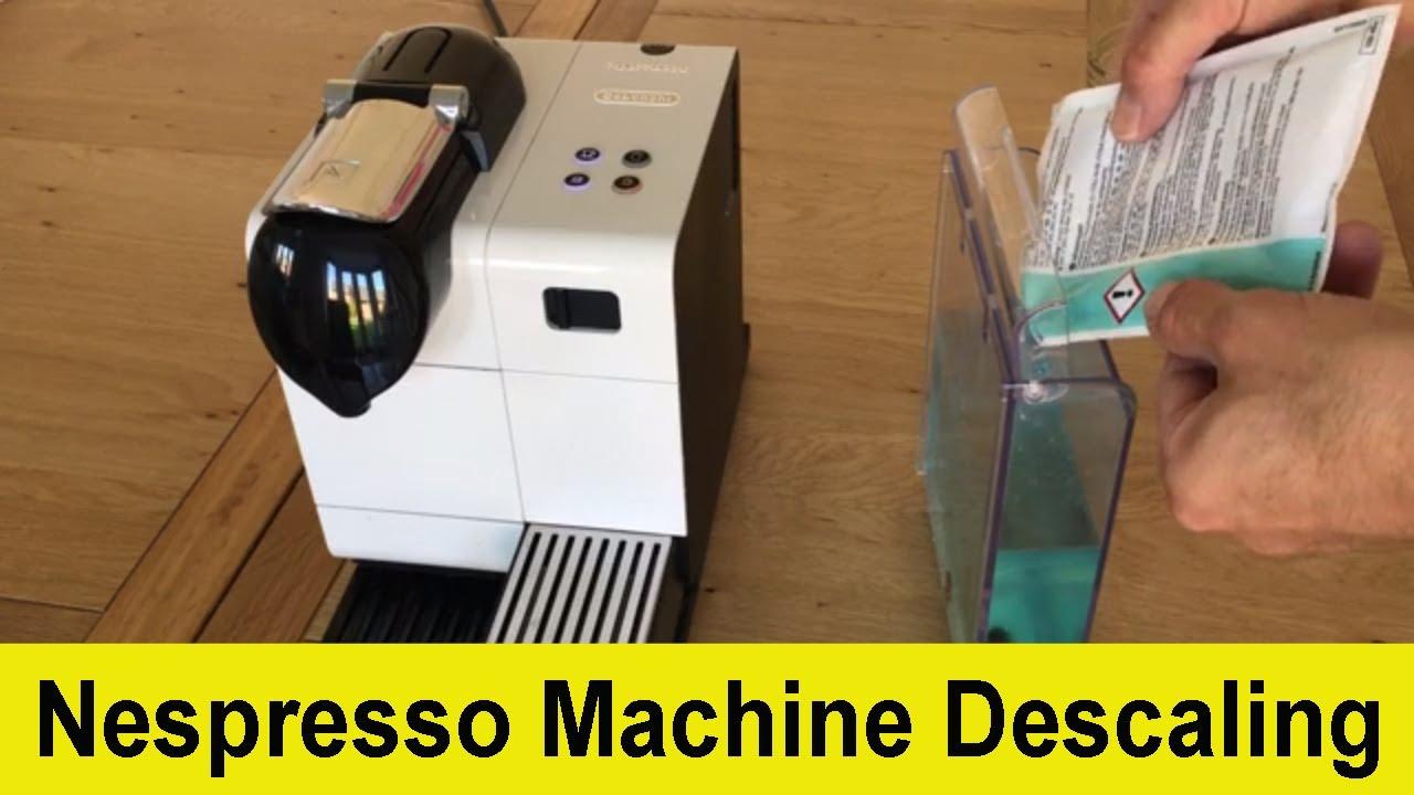 How to descale your Delonghi Nespresso Lattissima coffee ...