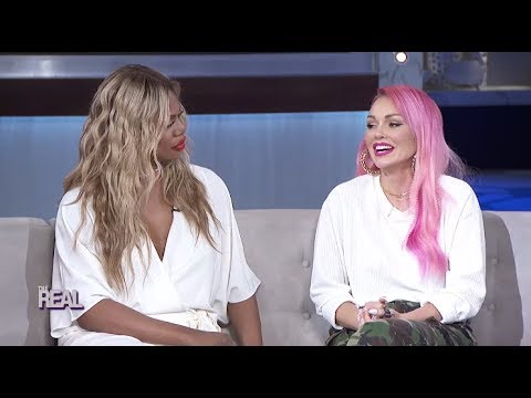 Laverne Cox and Kandee Johnson Talk About Beyoncé and Janice Dickinson  Part 2