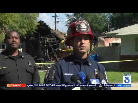 3 Dead After Small Plane Crashes Into Riverside Home