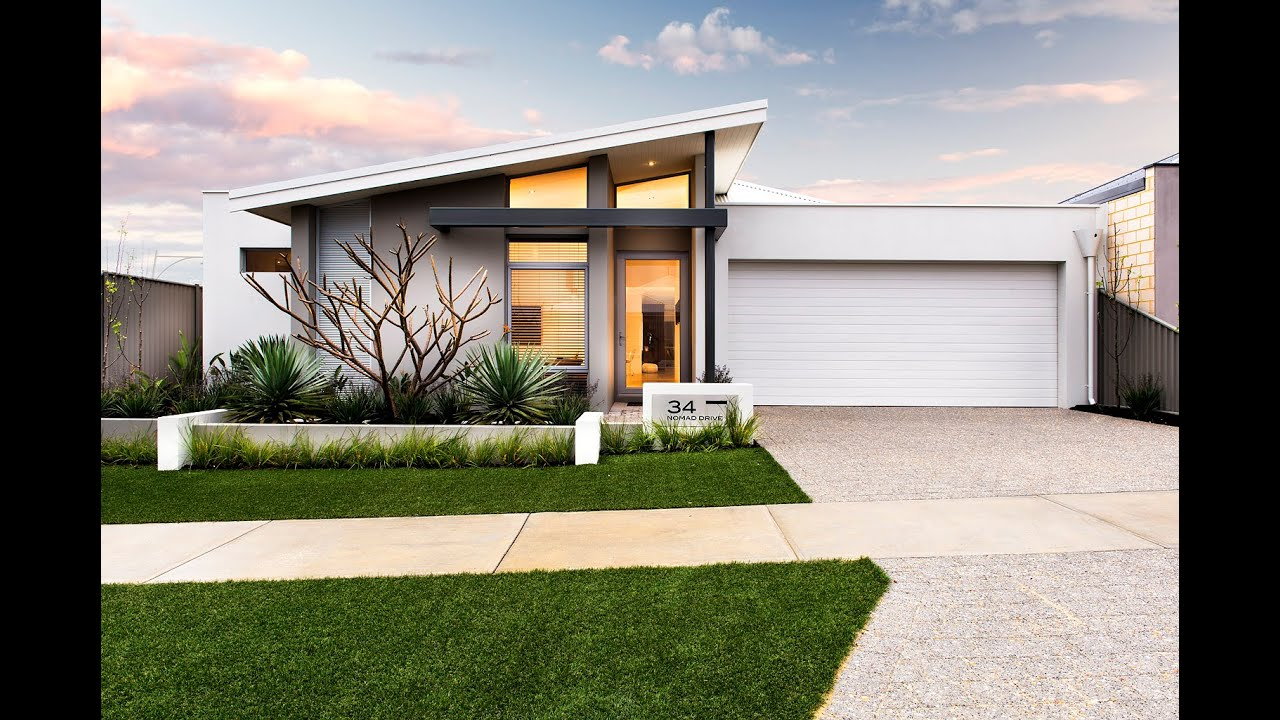 Vespa - Modern New Home Designs - Dale Alcock Homes - YouTube on Modern House Ideas  id=80493