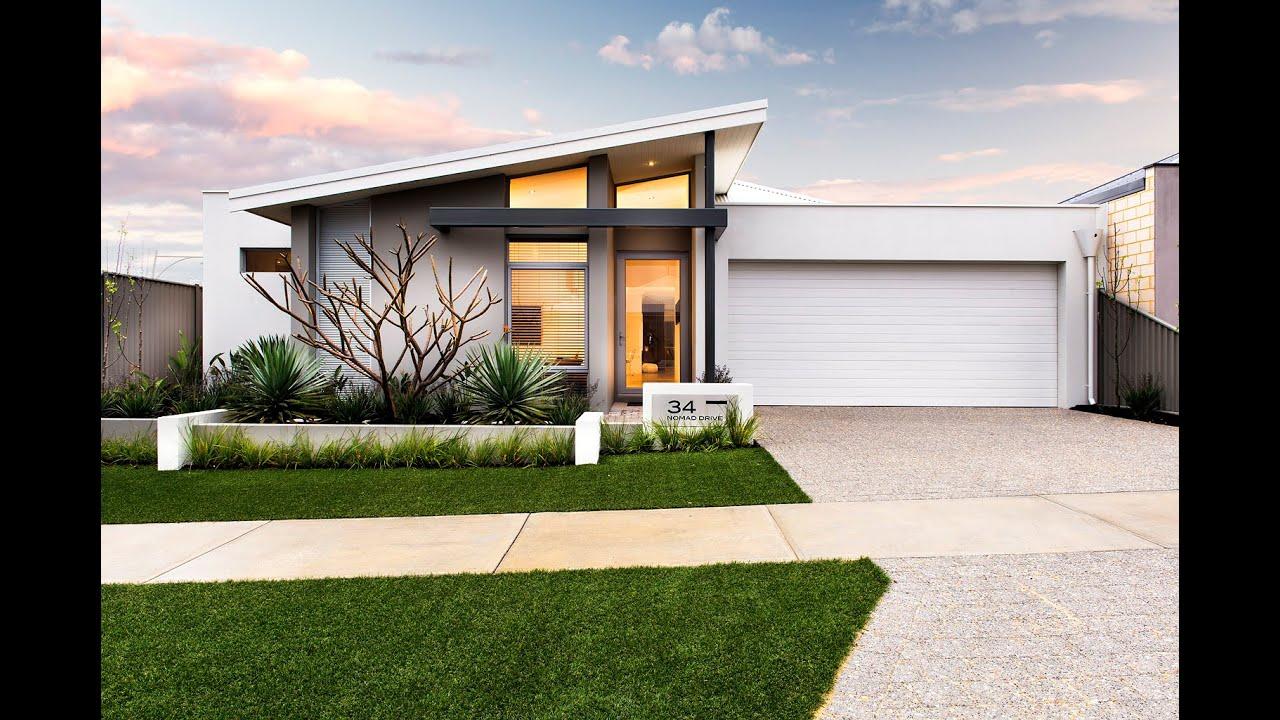 Vespa   Modern New Home Designs   Dale Alcock Homes   YouTube