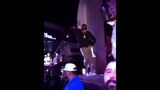 Chris Brown dancing to Picture Me Rollin