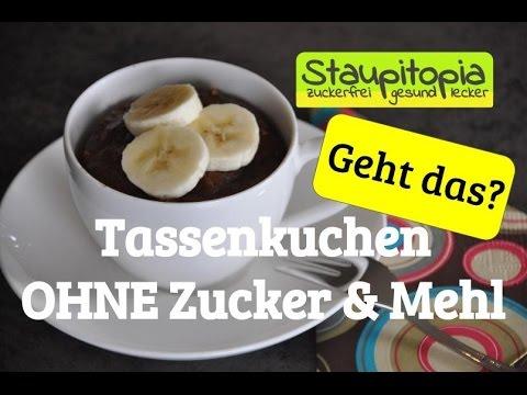 Tassenkuchen Schoko Erdnuss Ohne Mehl Ohne Zucker In Der