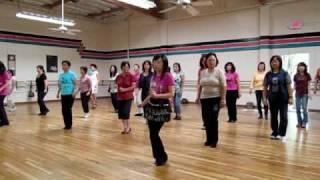 Little Rhumba Line Dance (Demo & Walk Through)