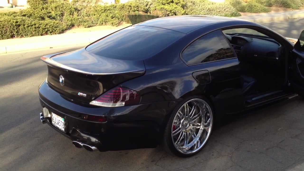 2006 bmw m6 ac schnitzer for sale youtube. Black Bedroom Furniture Sets. Home Design Ideas