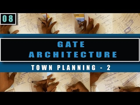 Architecture Gate study material-8 (Town Planning - 2)