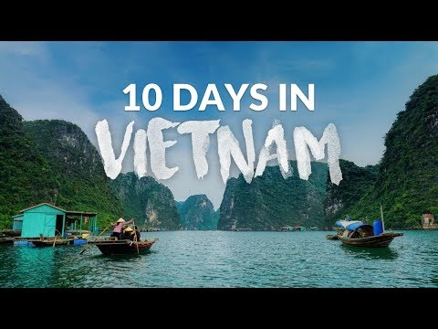 Incredible Vietnam nature travel video | 1080p | Timelapse | Gopro | Halong bay