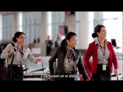 Con Salesforce Chatter, Virgin America hace que los viajes sean más sociales.